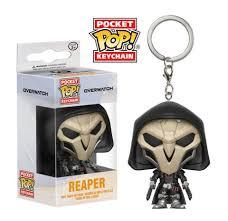 Key Chain: Overwatch - <b>Reaper</b> Pocket <b>Pop</b> Vinyl (Key Chains)