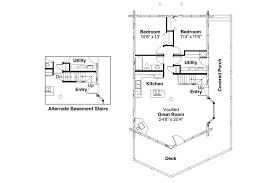 A Frame House Plans   Eagleton     Associated DesignsA Frame House Plan   Eagleton     st Floor Plan