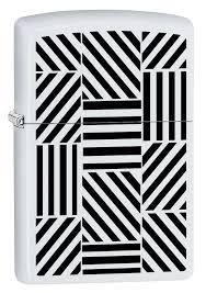 Каталог <b>Зажигалка Zippo 214</b> Abstract с покрытием White Matte ...