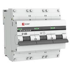 <b>Автоматический выключатель EKF PROxima</b>, модульный, 3п C ...