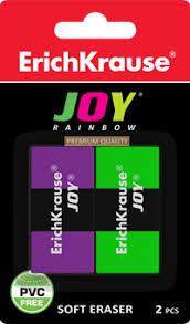<b>Ластик ERICH KRAUSE</b> Joy Rainbow 46523 – купить в сети ...