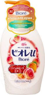 Купить <b>Гель для душа</b> Biore <b>Персиковый</b> соблазн 480мл с ...