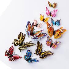 Мода <b>12pcs</b> 3D бабочка <b>дизайн</b> Decal <b>Art</b> стены наклейки номер ...