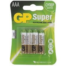 AAA <b>Батарейка GP</b> Super Alkaline <b>24A LR03</b>
