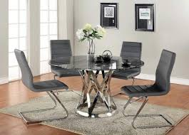 black glass kitchen table top dining