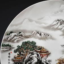 Керамическая декоративная <b>тарелка</b> в китайском <b>стиле</b> ...