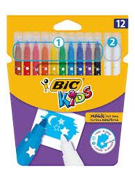 Цветные <b>фломастеры</b>, 10 цветов и 2 обесцвечивающих, детские ...