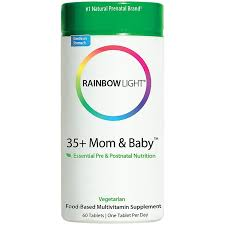 <b>35</b>+ <b>Mom</b> and <b>Baby</b> (60 Tablets) by Rainbow Light Nutritional ...