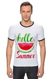 Футболка Рингер <b>Hello summer</b> #2210797 от Liby по цене 1 437 ...