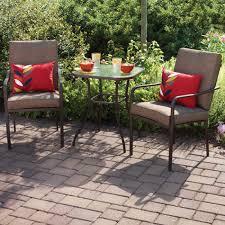 chair bistro patio set piece