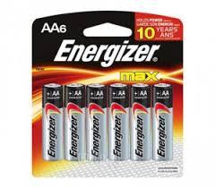 Купить AA - Energizer LR6/E91 Max (6 штук) E300132200 по ...