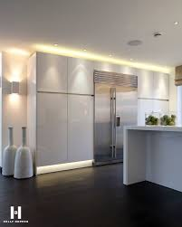 beautiful gloss white kitchen stunning lighting and accessories kelly hoppen for regal homes ambient kitchen lighting