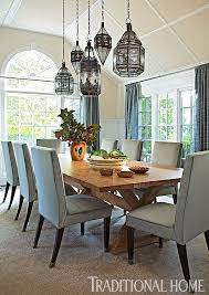 lighting in rooms. moroccan style lanterns in a traditional dining room lighting rooms