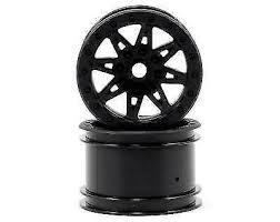 Axial Wraith 2.2 Raceline Renegade Wheels <b>41mm</b> Wide <b>Black 2 Pcs</b>