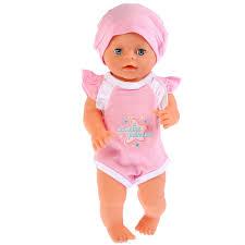"<b>Одежда для кукол Карапуз</b> ""Розовый боди Мамина радость ..."