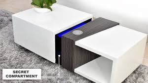 Motorized <b>Coffee Table with</b> a Secret 4k Projector - YouTube