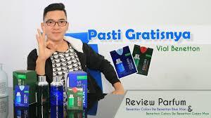 Gratisnya Pasti! <b>Benetton Colors De Benetton Blue</b> & Green - YouTube