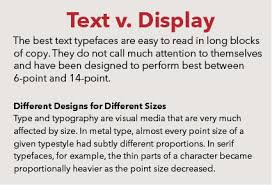 Uses of Bold Type in Text - Fonts.com
