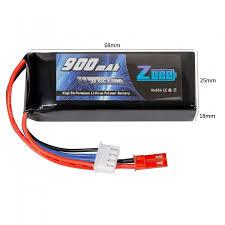 <b>Аккумулятор Zeee Power 3s</b> 11.1v 900mah 45c SOFT