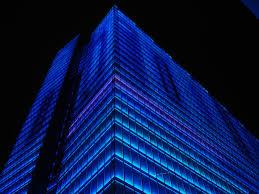 dexia tower brussels belgium building facade lighting