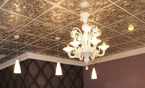 sagging tin ceiling tiles bathroom: marylands jewelry store owned by amy hugo has a sivler ceiling