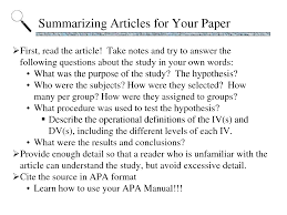 Improbable Research    Blog Archive wikiHow Best Photos of Intro To An Article Of Examples APA Format  Best Photos of Intro To An Article Of Examples APA Format