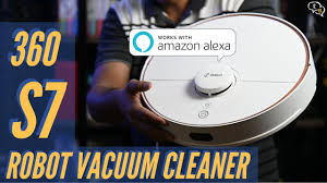 <b>360 S7</b> Robot Vacuum Cleaner Review - YouTube