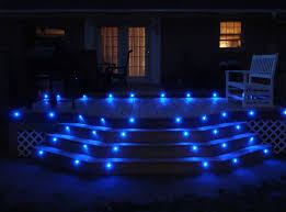 awesome deck lighting ideas with blue led deck lights using little dot smd led accent lights accent lighting ideas