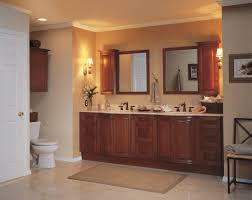 bathroom excellent bathroom with beige nuanced and lighting feat likeable classy wood vanity plus marble bathroom bathroom mirrors and lighting