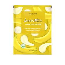 Увлажняющая <b>маска</b>-смузи для сухих <b>волос</b> с бананом Love ...