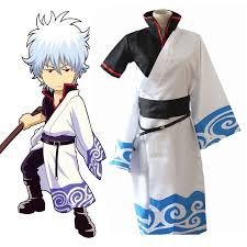 <b>Anime Gintama Cosplay Costumes</b> Sakata Gintoki Cosplay ...