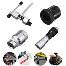 Mountain Bike <b>MTB Bicycle Crank Chain</b> Axis Extractor Removal ...