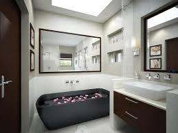 grey accessoriesexquisite black white tile bathroom