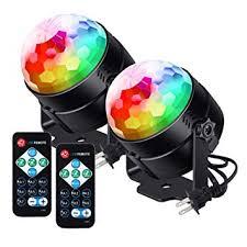 [2019 Latest 6-Color LEDs] Litake <b>Party Lights Disco Ball</b> Lights