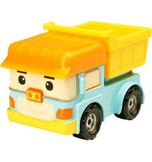 Машинка <b>Robocar Poli</b> Дампи 6 см, артикул: 83164 - купить в ...