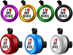 7 Pieces I Love My Bike Bell Bicycle Bell Bike Ring ... - Amazon.com