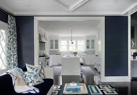 navy living room home