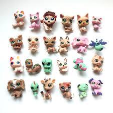 <b>24 pcs</b>/<b>lot LPS</b> Cartoo <b>Vinyl</b> Toy Dolls Pet Action Figures Unicorn ...