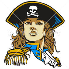 Image result for cartoon lady pirate clipart