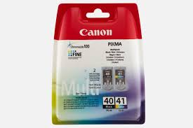Buy Canon <b>PG-40</b>/<b>CL-41</b> C/M/Y <b>Ink Cartridge</b> Multipack — Canon ...