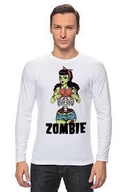 <b>Лонгслив Zombie</b> girl #1423476 от Leichenwagen по цене 1 228 ...