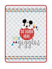 <b>Комплект постельного белья Mickey</b> gray Disney 8160745 в ...