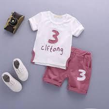 Buy <b>Children's Clothing 2019</b> New <b>Summer</b> Children's Short Sleeve ...