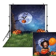 <b>Allenjoy</b> 5x7ft Night <b>Halloween</b> Themed <b>Backdrop</b> for <b>Photography</b> ...