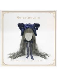Lolita <b>Headdress</b>: Head Bows, Bonnets, Mini-Hat, Floral Hairpieces ...