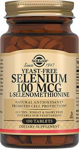"""Solgar, <b>Selenium</b> """"<b>Селен</b>"""", <b>100 мкг</b>, <b>100</b> таблеток — купить в ..."""