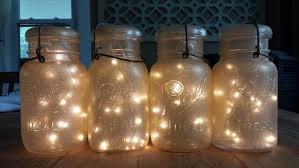 indoor outdoor vintage gold glitter sparkle mason jar battery operated fairy string lights vintage mason jar light for decor dine wedding blue mason jar string lights