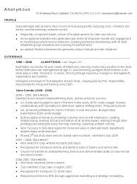 retail store manager resume sample  managnment resumesrelated free resume examples  management resume  middot  retail manager