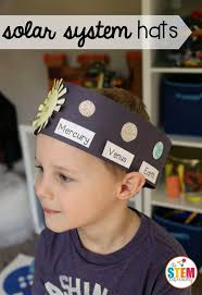 best ideas about solar system crafts the planets what an awesome outer space craft for kids make solar system hats to teach them