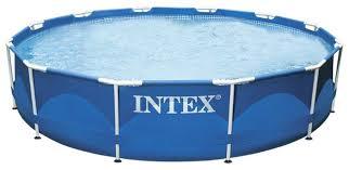 <b>Бассейн Intex Metal Frame</b> 28210/56994 — купить по выгодной ...